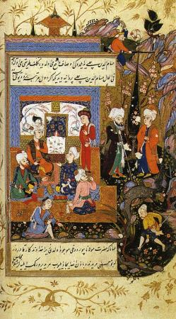 Jalal_al-Din_Rumi,_Showing_His_Love_for_His_Young_Disciple_Hussam_al-Din_Chelebi